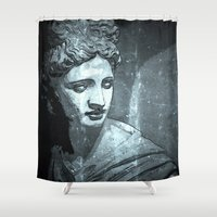 apollo Shower Curtains featuring Apollo 1 by Jerry Watkins