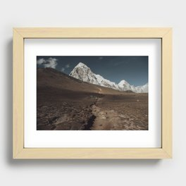 Kalapathar Recessed Framed Print