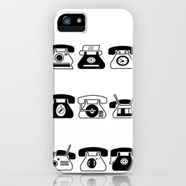 Fifties' Smartphones iPhone Case