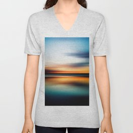 Abstract Landscape 15 Unisex V-Neck
