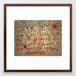 Nancy Framed Art Print