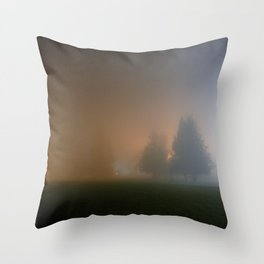Only night Throw Pillow