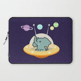 Astronaut elephant: Galaxy mission Laptop Sleeve