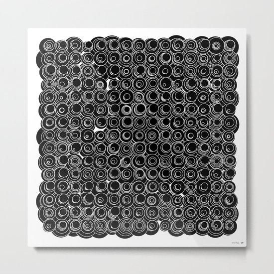 Sound Circles Metal Print