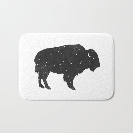 Mystic Buffalo  Bath Mat
