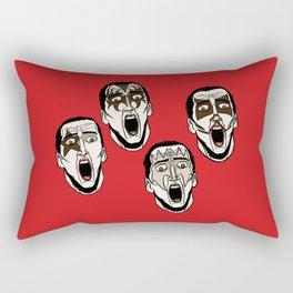 Kiss Cage Rectangular Pillow