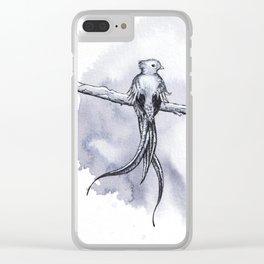 Resplendent Quetzal Clear iPhone Case