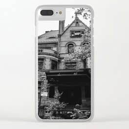 Brooklyn Heights Brownstone Clear iPhone Case