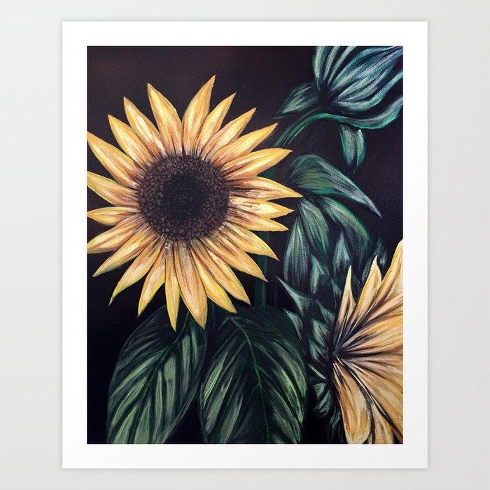 Sunflower Life Kunstdrucke