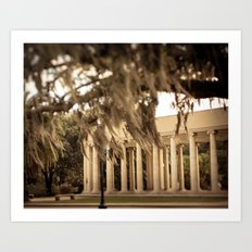The Peristyle - New Orleans Art Print
