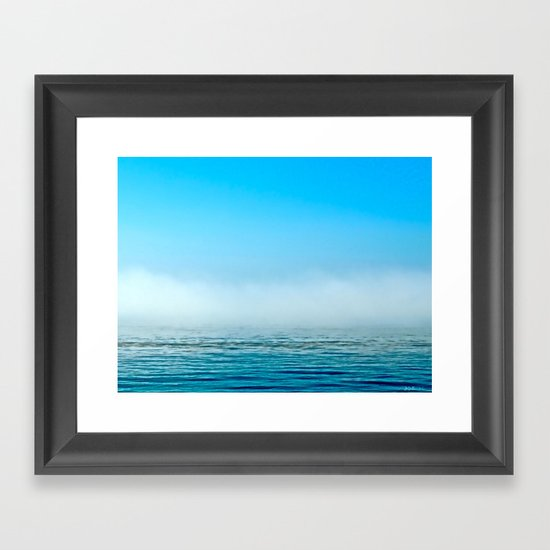 Misty Framed Art Print