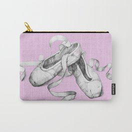 Ballet shoes pink Carry-All Pouch