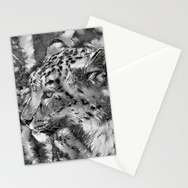 AnimalArtBW_Leopard_20170606_by_JAMColorsSpecial Stationery Cards