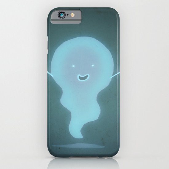 Happy Ghost iPhone & iPod Case