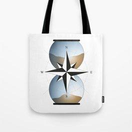 Desert hourglass Tote Bag