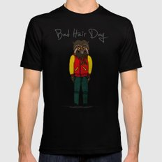 bad hair day no:5 / Thriller Black MEDIUM Mens Fitted Tee