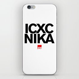 ic xc nika iPhone Skin