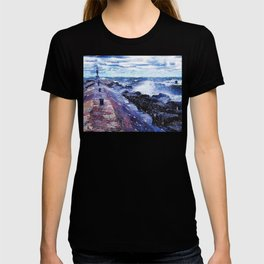 Lake Michigan Waves T-shirt