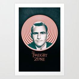 The Twilight Zone - TV Series Art Print