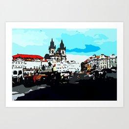 Prague Praha Art Print