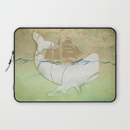 The ghost of Captain Ahab, Moby Dick Laptop Sleeve