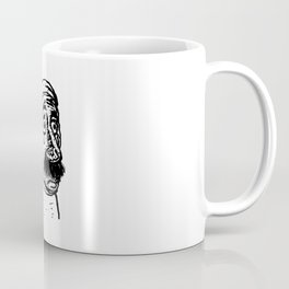 le bébé moustachu - 6 Coffee Mug