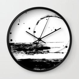 ABSTRACT LIGHT BEAM Wall Clock