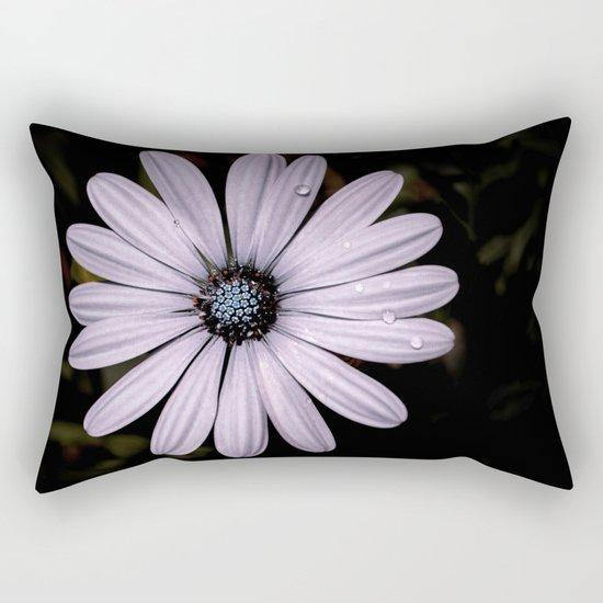 Daisy Mauve Rectangular Pillow