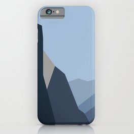 Yosemite Tunnel View (2) iPhone Case