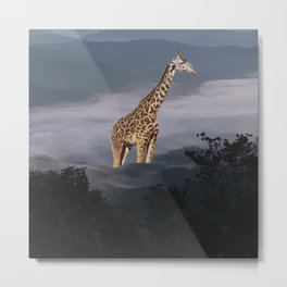 These Unselected —Mr.Giraffe Metal Print