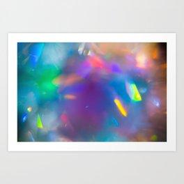 Prisms Play of Light 7 Art Print