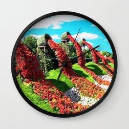 Of Man and Nature Wall Clock