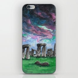 The Druids Turn To Stone iPhone Skin