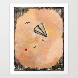 The things that I love 3 Art Print