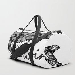 Humpback whale | Swim swim swim Duffle Bag