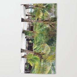 Bungalows on Palm Beach Beach Towel