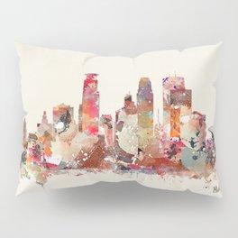 Minneapolis Minnesota Pillow Sham