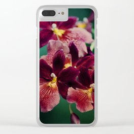 The mystery of orchid(13) Clear iPhone Case