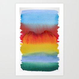 Miraggio Art Print