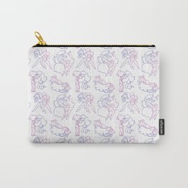 Marceline and Bubblegum Pattern Carry-All Pouch