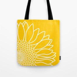 Sunflower Cheerfulness Tote Bag