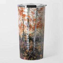Rust Aspens Travel Mug