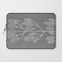 Leaf-like Sumac in Grey Laptop Sleeve