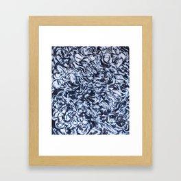 She Sees Skulls Framed Art Print