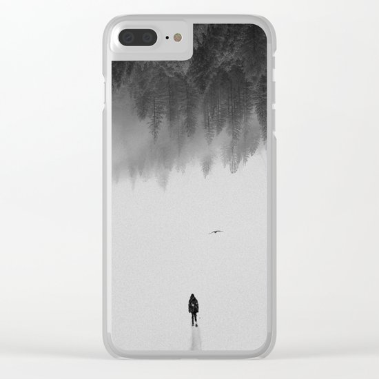 Silent Walk Clear iPhone Case