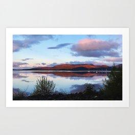 Loch Lomond Sunrise Art Print
