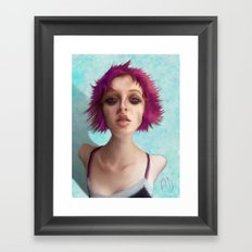 I don't like the drugs.... Framed Art Print