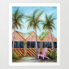 McT Sanibel Island Art Print
