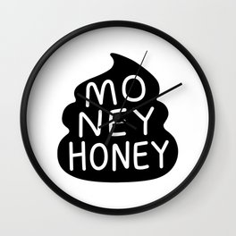 Money Honey Wall Clock