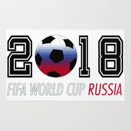 Russia Cup 2018 Rug